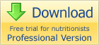Download nutrinote professional trial